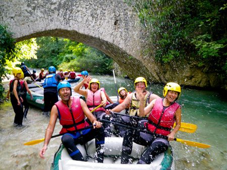 rafting in umbria norcia