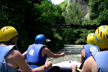 rafting near norcia